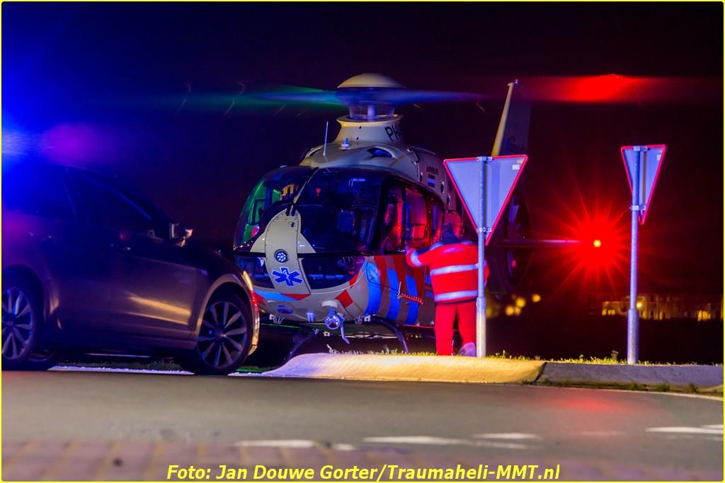 2020-11-20 Ongeval Motoer lemmerweg Afslag Ijlst 11-BorderMaker